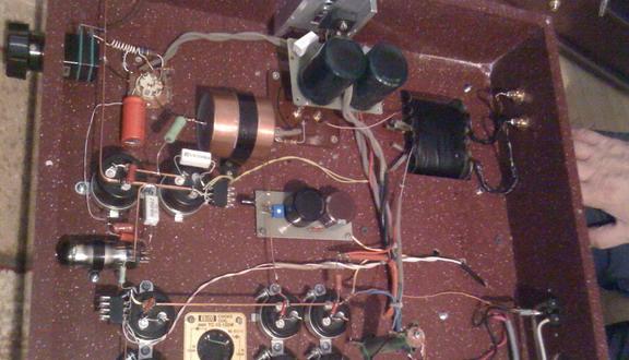 На основе лампы ГМ 70 создан усилитель, работающий в классе А. Усилитель...